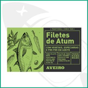Conserva de pescado Atún con encurtidos, especias y cayena