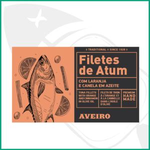 Lata de Atún con naranja y canela