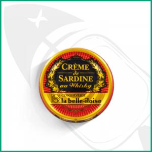 Crema de sardinas al wisky