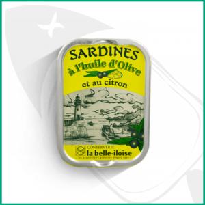 Conserva de Sardinas con aceite de oliva y limón