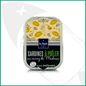 Conserva de Sardinas para degustar en caliente con curry Madras