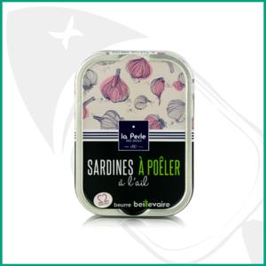 Sardinas para degustar calientes con ajo