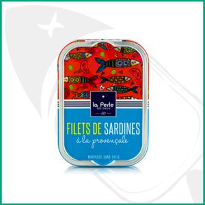 Filetes de Sardina sin aceite con hierbas Povenzales