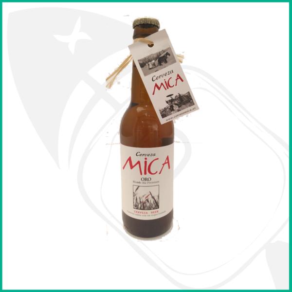 Cerveza Blonde Ale Mica de la Ribera del Duero. Suave