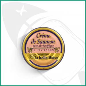 Crema de salmón al estragón