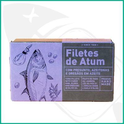 Atún en conserva Portugues con aceitunas jamón y oregano