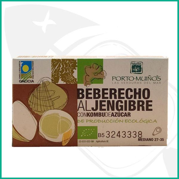 Ricos berberechos de las Rías gllegas con jengibre
