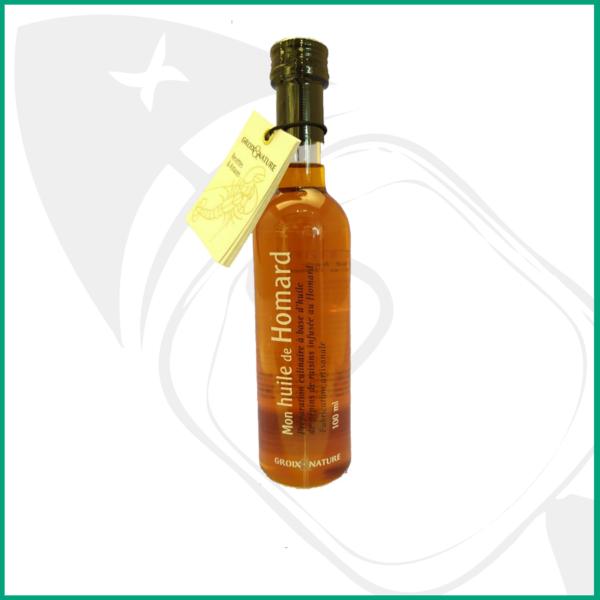 aceite de bogavante, pleno sabor a marisco