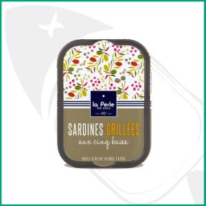 Conserva de sardinas a la brasa a las 5 pimientas