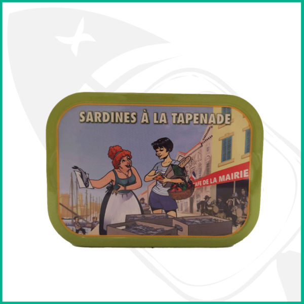Lata conserva Sardinas a la Tapenade