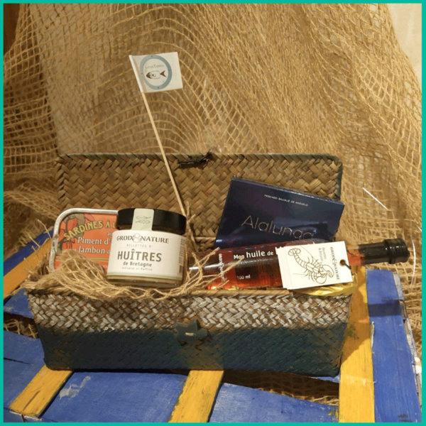 Lote de productos de cestas para padres sibaritas