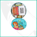 presentacion cofre regalo Lulu con selección conservas gourmet