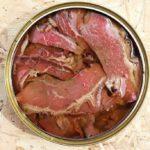 conserva de carne gourmet , pastrami