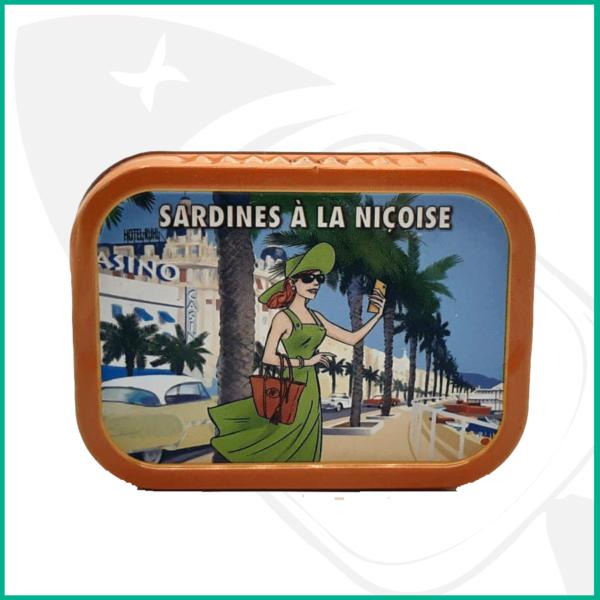 Sardinas en conserva de la Provenza al estilo Nicoise