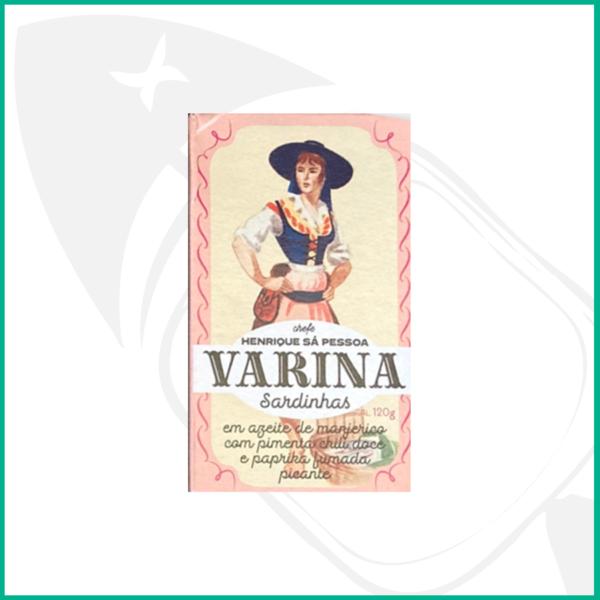 Conserva de sardinas en aceite de oliva virgen extra con albahaca, pimienta dulce y paprika ahumada